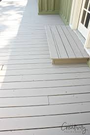 Vinyl Decking For Boats by Best 25 Painted Decks Ideas On Pinterest Gray Deck Deck Bench
