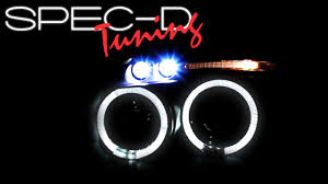 specdtuning demo video 2006 2011 mitsubishi eclipse led projector