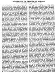 Allgemeine Zeitung Bad Kreuznach Texte Zur Geschichte Der Jüdischen Gemeinde In Bad Kreuznach
