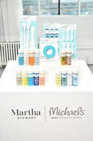 my new crafts paint line at michaels the martha stewart blog