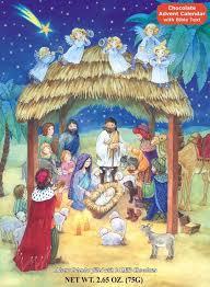 nativity advent calendar advent calendar nativity special chocolate