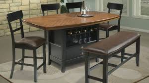 counter height dining table with storage counter height dining table with storage elegant modern by standard