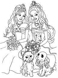 barbie coloring pages coloring 3 pinterest barbie coloring