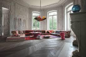 mah jong sofa sectional fabric sofa mah jong missoni home by roche bobois design