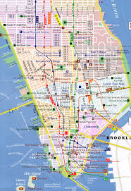map of new york city with tourist attractions map of nyc with landmarks major tourist attractions maps