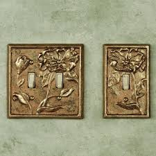 Travertine Switch Plates by Rustic Light Switch Covers Rustic Mountain Cabin Double Light