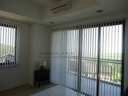 Cloth Vertical Blinds Fabric Vertical Blinds Complete Your White Themed Room With Low