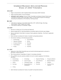 Medical Doctor Curriculum Vitae Example Sample Cv For Internal Medicine Residency
