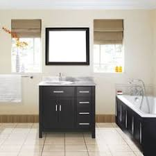 Canadian Tire Bathroom Vanity Cosrco Studio Bathe Kalize 36 White Single Vanity With Mirror