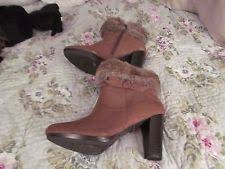 womens grey boots size 9 fur s ankle boots us size 9 ebay