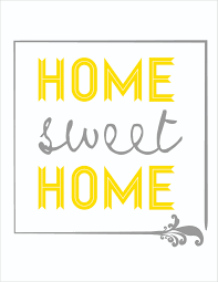 Home Sweet Home Decor 7 Best Images Of Sweet Home Printable Free Printable Home Sweet