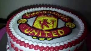 manchester united logo theme cake youtube