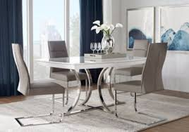 rooms to go dining sets washington square 5 pc dining room dining room sets metal