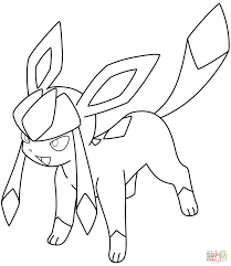 pokemon coloring pages images best of glaceon pokemon coloring page pokemon pinterest free