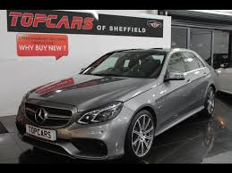 mercedes e63 for sale used 2013 mercedes e class e63 amg for sale in sheffield