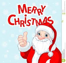 thumbs up santa claus greeting card stock images image 35367864