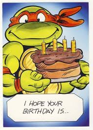 printable birthday cards with turtles free printable ninja birthday cards michaelangelo birthday
