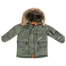 alpha industries black friday kids jackets and coats