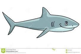 smiling ferocious shark stock vector image 39346384