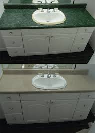 refinish bathroom sink top before after bathtub refinishing tile reglazing sinks