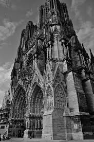 t fujimaki outside church pinterest reims cathedral