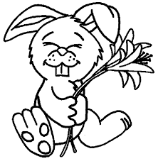 free printable easter bunny coloring pages for kids inside