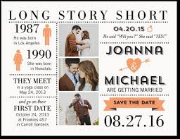 save the date st story save the date postcard future wedding