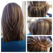 layred hairstyles eith high low lifhts heavy foil thinly sliced high lights and low lights hairstyles