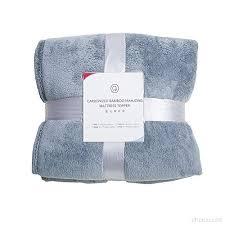 plaid gris pour canapé home intérieur douce flanelle couverture couvre lit pour lit
