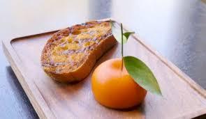 cuisine trompe l oeil vidéo ce trompe l œil en forme de mandarine renferme une entrée