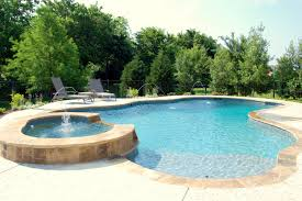 pools images freeform swimming pool with spa southlake texas