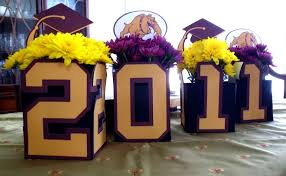 Diy Graduation Centerpieces by Graduation End Of Party Ideas Photo 4 Of 6 Catch My Party