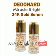 Serum Wajah Shop serum wajah deoonard gold miracle bright serum 24k original