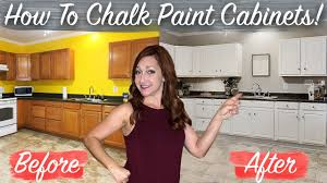 chalk paint kitchen cabinets images how to chalk paint kitchen cabinets no sanding fast easy diy