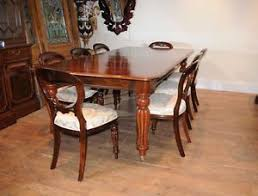 mahogany dining room set mahogany dining table set chairs balloon back ebay