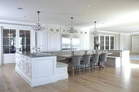 oversized kitchen island kitchen island with bench seating banquette seating island view
