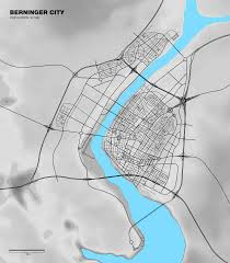 Where I Ve Been Map A Road Map Of The City I U0027ve Been Working On For About 3 Months On