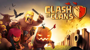 hd halloween background clash of clans halloween update 1920x1080 full hd 16 9