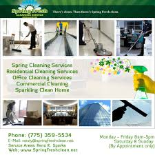 spring fresh cleaning service home cleaning 610 s rock blvd