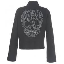 skull sweater 360 emerald black skull sweater designer womesnwear