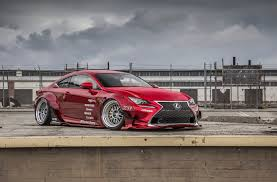 red lexus 2014 lexus rc 350 by rocket bunny and gordon ting rc f revealed gtspirit