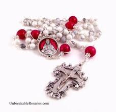 sacred heart rosary sacred heart of jesus immaculate heart of rosary in
