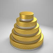 goldene hochzeitstorte goldene hochzeitstorte stock abbildung bild 40234592