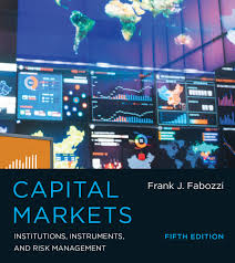 capital markets the mit press