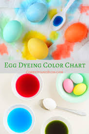 egg dye food coloring chart 28 images how to dye easter eggs
