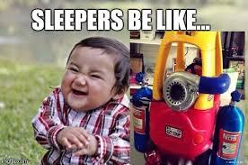 Racing Memes - sleepers imgflip