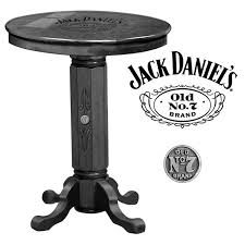 Jack Daniels Curtains Jack Daniel U0027s Lifestyle Products Jack Daniel U0027s Pub Table U0026 Reviews