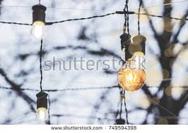 outdoor light string stock images royalty free images vectors