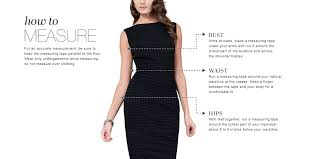 size guide find your perfect fit tadashi shoji