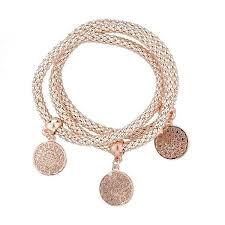 chain bracelet with charms images Fashion bangle bracelets with charms milestone keepsakes jpg
